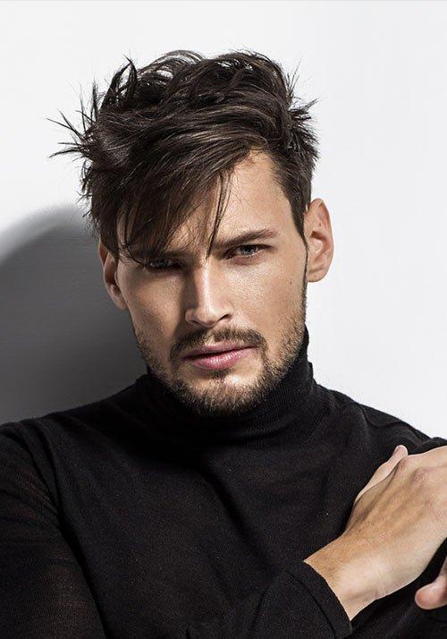 frisuren hohe stirn männer
